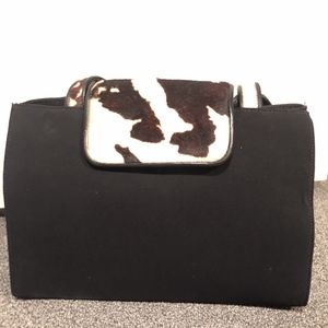 Donald J Pliner Haircalf over the shoulder purse
